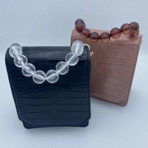 alt=beaded-handle-croc-handbag-black-clear