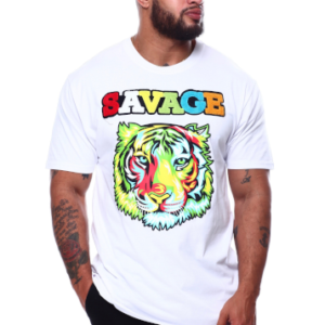 alt=colourful-tiger-savage-t-shirt-white